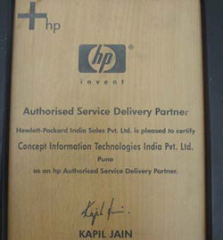 HP Autorized Service Delivery Partner 2006