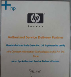HP Autorized Service Delivery Partner