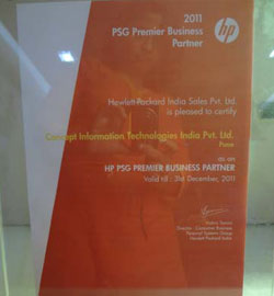 HP PSG Premier Business Partner 2011
