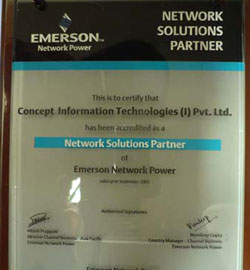 Emerson Network Solution Partner